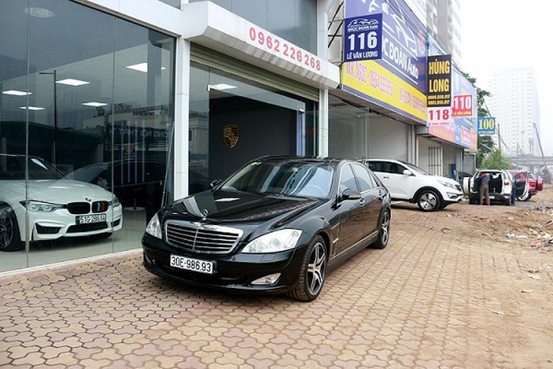 Mercedes Benz S550 2008 bán 900 triệu, đắt ngang Lux A mới