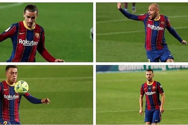 Sao trẻ Barcelona bị phạm lỗi kinh hoàng