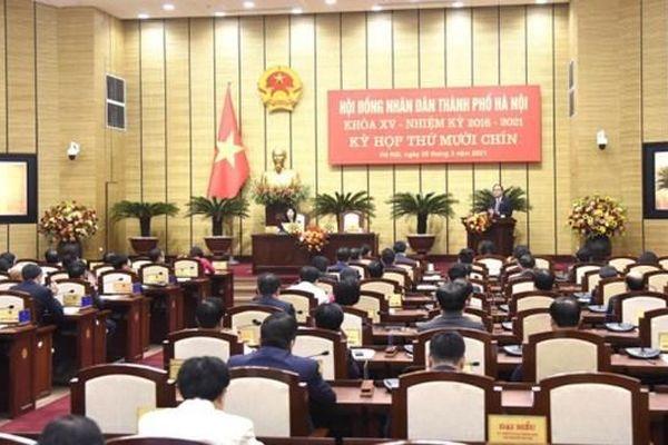 Hà Nội miễn nhiệm, bầu bổ sung nhiều Ủy viên UBND TP