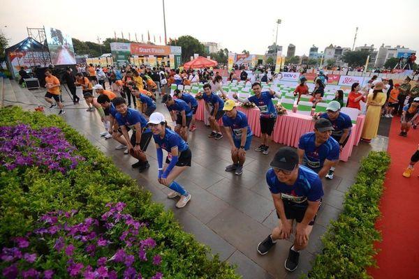Sôi nổi CLB BSR tại Giải chạy Tiền Phong Marathon 2021
