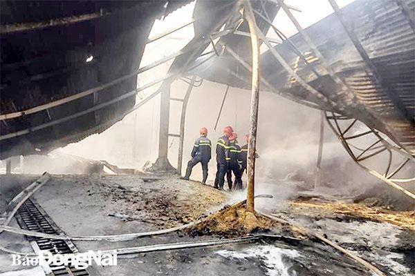Phòng cháy ở các làng nghề mùa khô