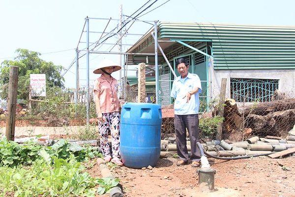 Hàng nghìn người dân ở Đắk R'la thiếu nước sinh hoạt