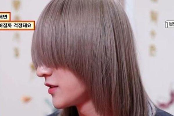 Lý do nam ca sĩ Hàn để tóc che kín mắt suốt một năm qua