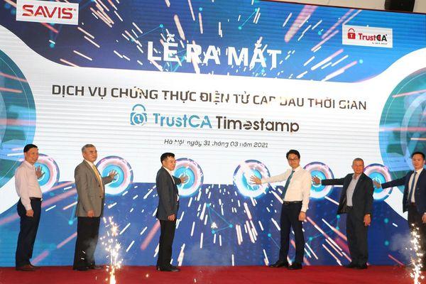 Ra mắt dịch vụ chứng thực điện tử cấp dấu thời gian đầu tiên tại Việt Nam