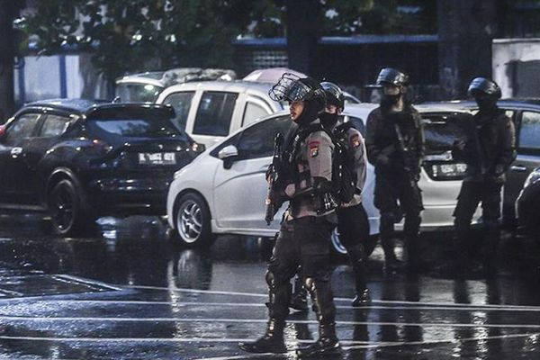 Indonesia tăng cường chống khủng bố