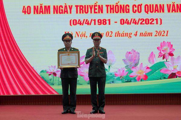 Thủ tướng tặng Bằng khen cơ quan Văn phòng Bộ tư lệnh Bảo vệ Lăng