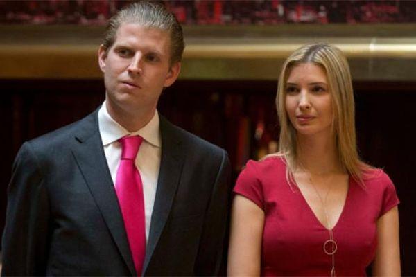 Eric Trump là 'fan cứng' của chị gái Ivanka
