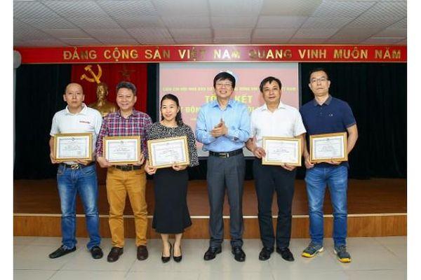 Tổng kết công tác Liên Chi hội Nhà báo cơ quan Trung ương Hội Nhà báo Việt Nam năm 2020
