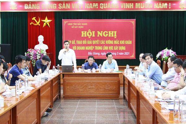 Sở Xây dựng Bắc Giang cam kết đồng hành cùng doanh nghiệp, tháo gỡ khó khăn trong quá trình đầu tư dự án trên địa bàn