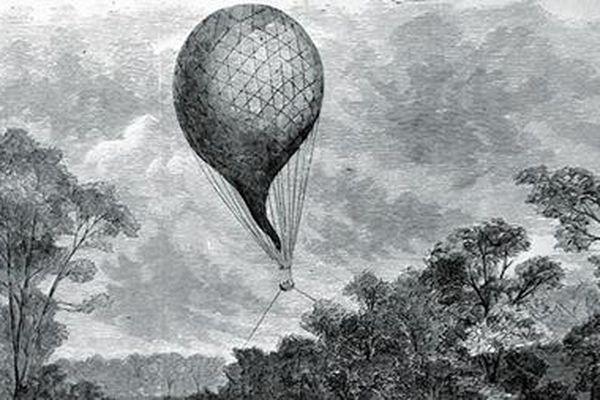 Khinh khí cầu, vũ khí đặc biệt của người Pháp khi xâm lược nước ta