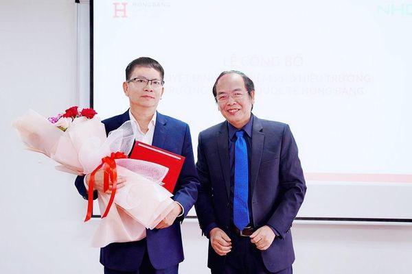 Ban Giám hiệu trường ĐH Quốc tế Hồng Bàng liên tục thay đổi