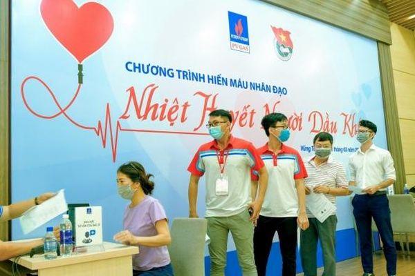 PV GAS tổ chức chương trình hiến máu nhân đạo 'Nhiệt huyết người Dầu khí' tại Vũng Tàu