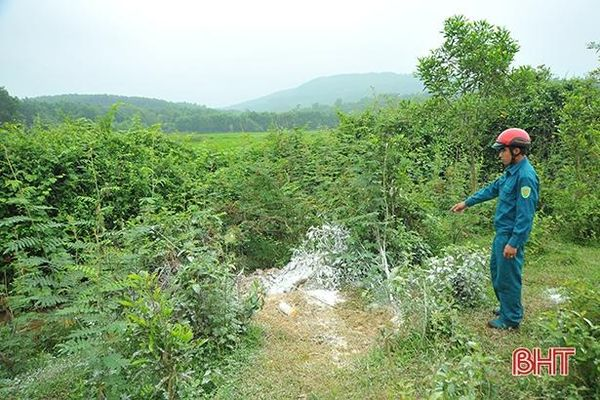 Khắc phục việc tiêu hủy gia súc thiếu hợp lý ở Hương Khê