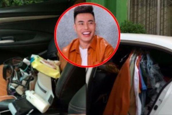 Lê Dương Bảo Lâm bị đồng nghiệp chê bai vì chở nguyên cả cửa hàng bán sỉ trên xe