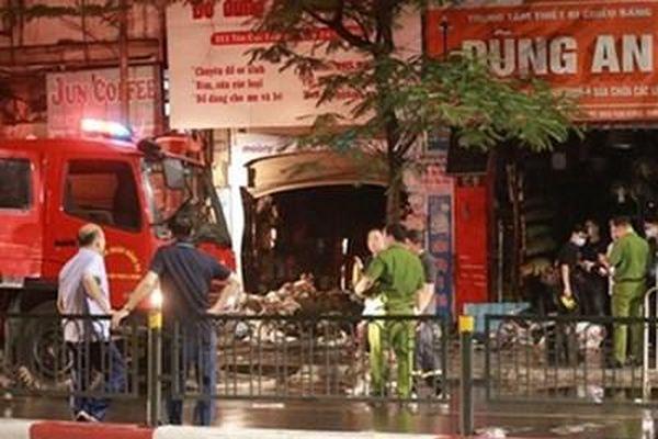 Lãnh đạo TP Hà Nội yêu cầu làm rõ nguyên nhân vụ hỏa hoạn làm 4 người tử vong