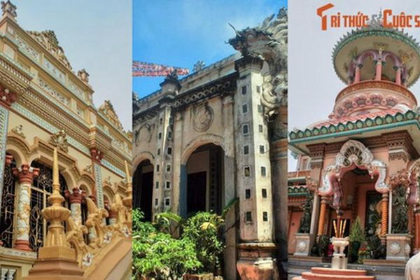 Độc lạ những ngôi chùa mang kiến trúc 'nửa Tây nửa ta' ở Việt Nam