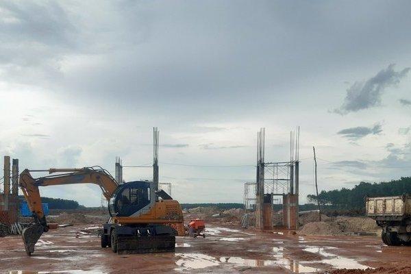 Xây dựng không phép chủ dự án An Phú Long Garden bị phạt 40 triệu đồng