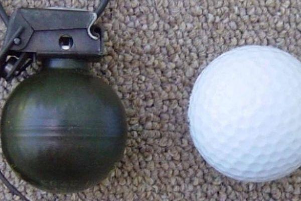 Lựu đạn nhỏ nhất thế giới chỉ bằng quả bóng gôn