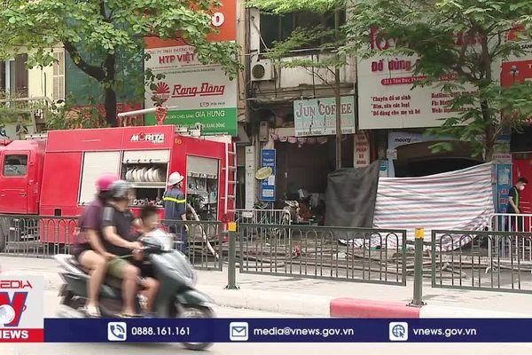 Thông tin chính thức vụ cháy làm 4 người tử vong tại Hà Nội