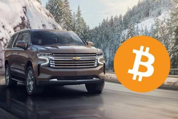 General Motors sẽ cho mua ô tô bằng Bitcoin