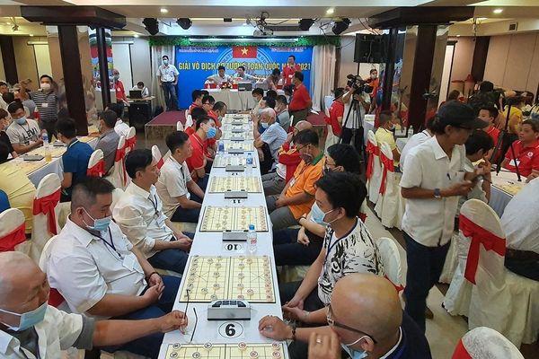 Quảng Ninh giành HCB tại Giải vô địch cờ tướng quốc gia 2021
