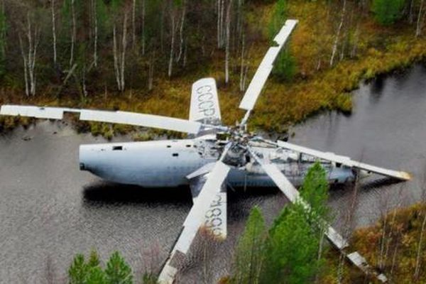 Kỳ quan của loài người bị bỏ rơi trong rừng nước Nga nhiều thập kỷ
