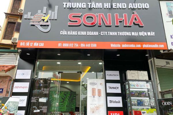 Cận cảnh showroom âm thanh hi-end mới của Audio Sơn Hà tại 12 Văn Cao, Ba Đình, Hà Nội
