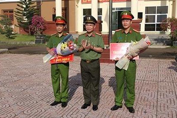 Công an Đắk Nông khen thưởng 2 đơn vị có thành tích xuất sắc