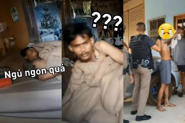 Tên trộm mò vào nhà cảnh sát, bật điều hòa rồi nằm ngủ quên luôn tới sáng