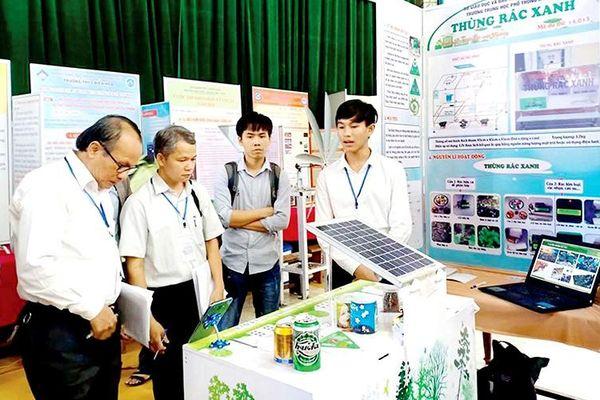 Dấu ấn sáng tạo khoa học kỹ thuật trong trường học ở Thừa Thiên Huế