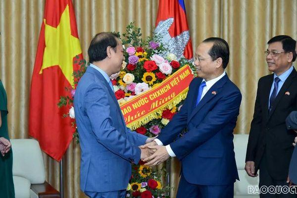 Thứ trưởng Ngoại giao Nguyễn Quốc Dũng chúc Tết cổ truyền Chol Chnam Thmay Campuchia
