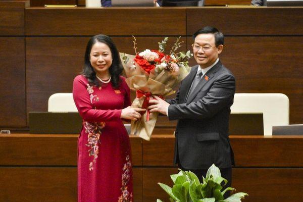 Quốc hội bầu bà Võ Thị Ánh Xuân làm Phó chủ tịch nước