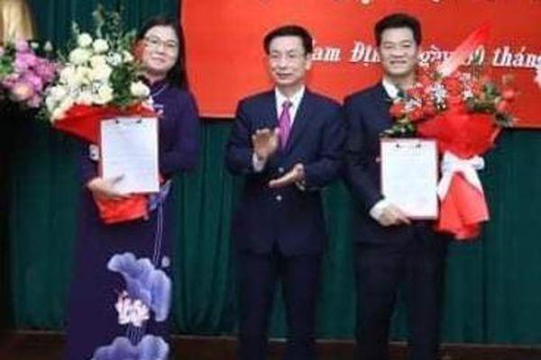 Kiện toàn nhiều nhân sự chủ chốt của tỉnh Nam Định