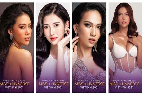 Loạt thí sinh cũ siêu hot đã trở lại cuộc thi ảnh online Hoa hậu Hoàn vũ Việt Nam 2021
