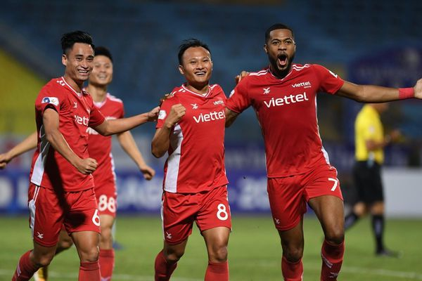 Cuối cùng, Viettel đã xóa dớp trước Hà Nội FC
