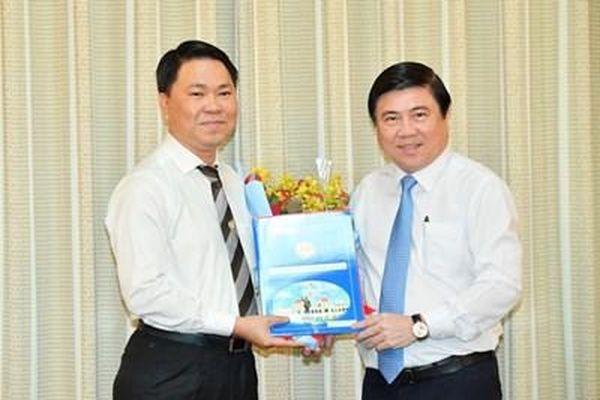 Đồng chí Trần Hoàng Quân giữ chức Giám đốc Sở Xây dựng TP Hồ Chí Minh