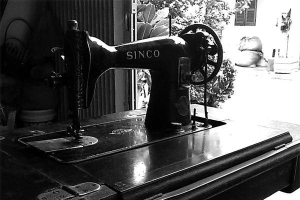 Chiếc máy may Sinco của má