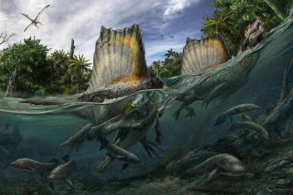 Cận cảnh màn săn mồi của loài khủng long đáng sợ hơn T-rex
