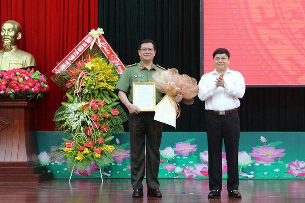 Chỉ định đại tá Lê Vinh Quy giữ chức vụ Bí thư Đảng ủy Công an tỉnh Đắk Lắk