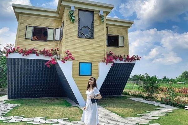 Nhà ngược Sa Đéc: Kiến trúc 'phản quy luật tự nhiên' thu hút khách du lịch