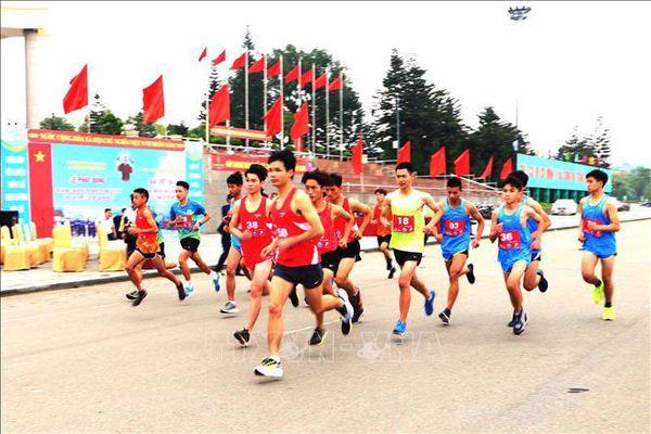 Toàn dân rèn luyện thân thể theo gương Bác Hồ vĩ đại