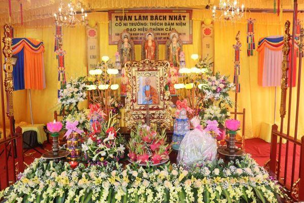 Thái Bình: Lễ bách nhật Ni trưởng Thích Đàm Niệm