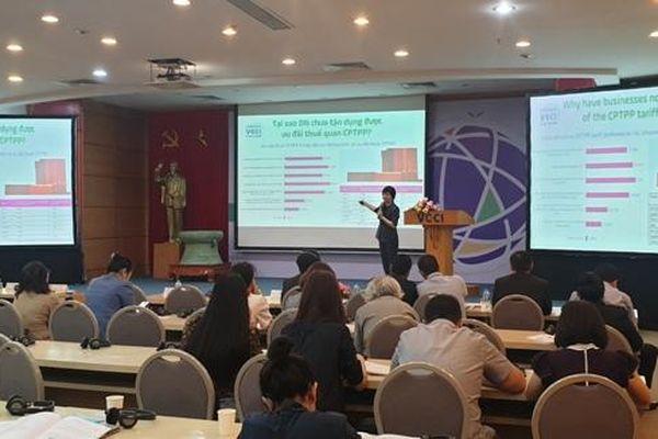 Tỷ lệ hàng Việt Nam xuất khẩu tận dụng ưu đãi thuế từ CPTPP mới đạt 4%