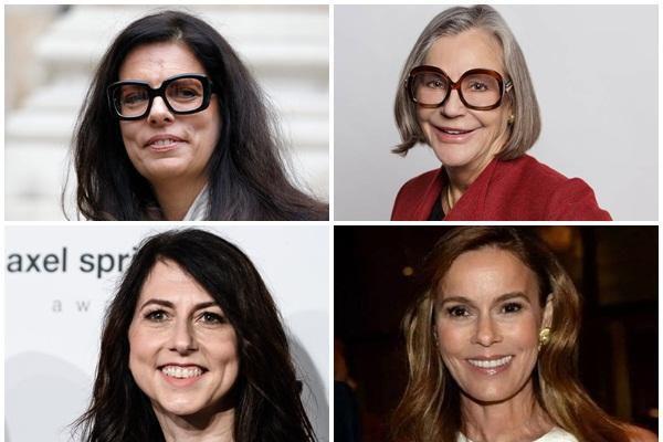 10 nữ tỷ phú giàu nhất thế giới 2021