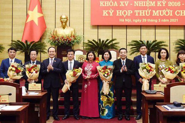 Hà Nội: Xác nhận kết quả bầu bổ sung ủy viên UBND thành phố