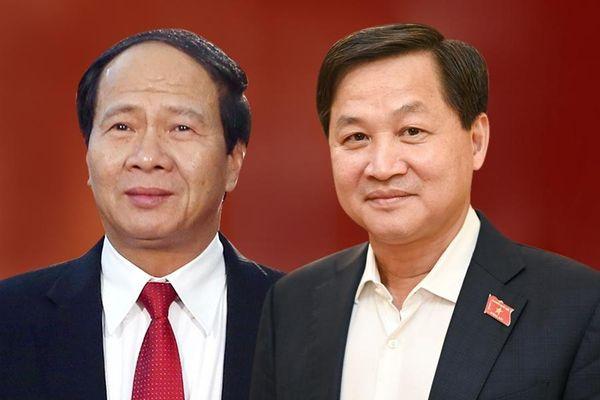 Ông Lê Minh Khái và Lê Văn Thành làm phó thủ tướng