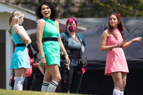 Tạo hình ba nữ siêu anh hùng 'Powerpuff Girls' bản người đóng
