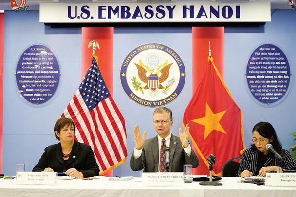 Đại sứ Mỹ tại Việt Nam Daniel Kritenbrink: Quan hệ Mỹ - Việt Nam sẽ còn phát triển mạnh mẽ