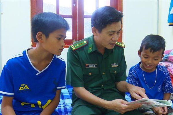 Chắp cánh ước mơ cho trẻ em nghèo nơi biên giới