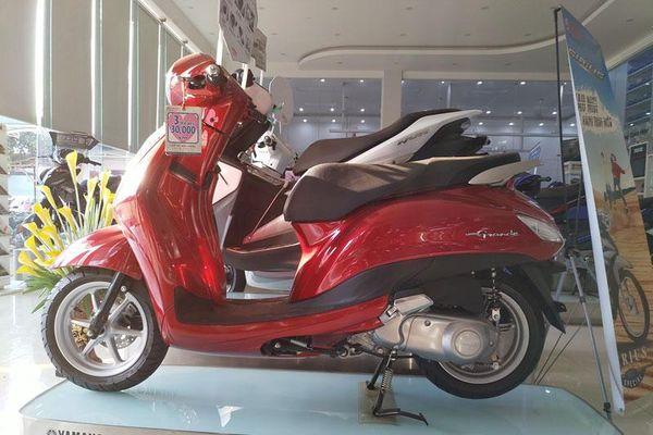 Bảng giá xe ga Yamaha tháng 4/2021: Giảm giá 7 triệu đồng